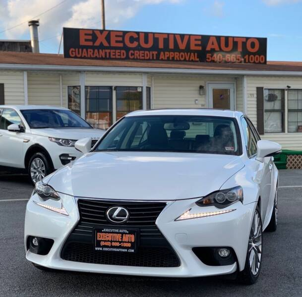 2016 Lexus IS 300 for sale at Executive Auto in Winchester VA