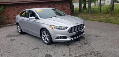 2016 Ford Fusion for sale at Elite Auto Sales in Herrin IL