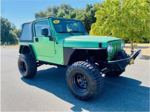 2003 Jeep Wrangler for sale at KARS R US in Modesto CA
