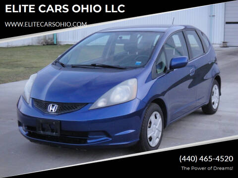 2012 Honda Fit for sale at ELITE CARS OHIO LLC in Solon OH