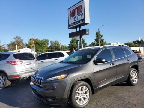 2016 Jeep Cherokee for sale at Motor City Sales in Wichita KS
