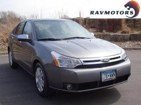 2010 Ford Focus for sale at RAVMOTORS in Burnsville MN
