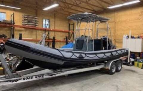 2005 Zodiac 730 Dura Rib for sale at R & R Motors in Queensbury NY