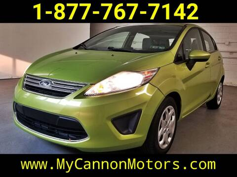 2012 Ford Fiesta for sale at Cannon Motors in Silverdale PA