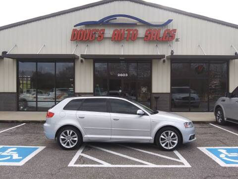 2012 Audi A3 for sale at DOUG'S AUTO SALES INC in Pleasant View TN