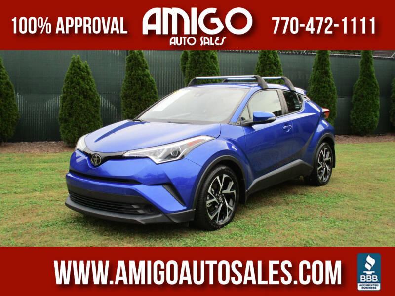 2018 Toyota C-HR for sale at Amigo Auto Sales in Marietta GA