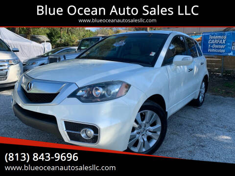 2010 Acura RDX for sale at Blue Ocean Auto Sales LLC in Tampa FL