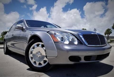 2004 Maybach 57 for sale at Progressive Motors in Pompano Beach FL