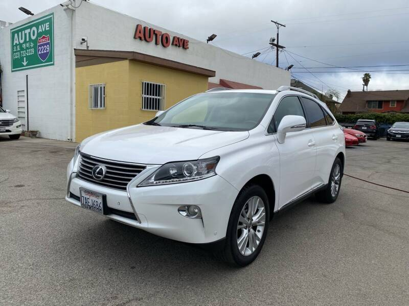 2013 Lexus RX 350 for sale at Auto Ave in Los Angeles CA