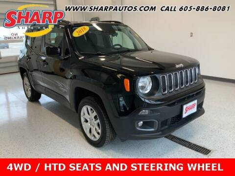 2018 Jeep Renegade for sale at Sharp Automotive in Watertown SD