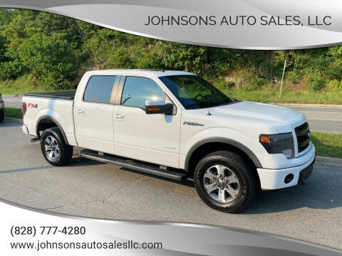 2014 Ford F-150 for sale at Johnsons Auto Sales, LLC in Marshall NC