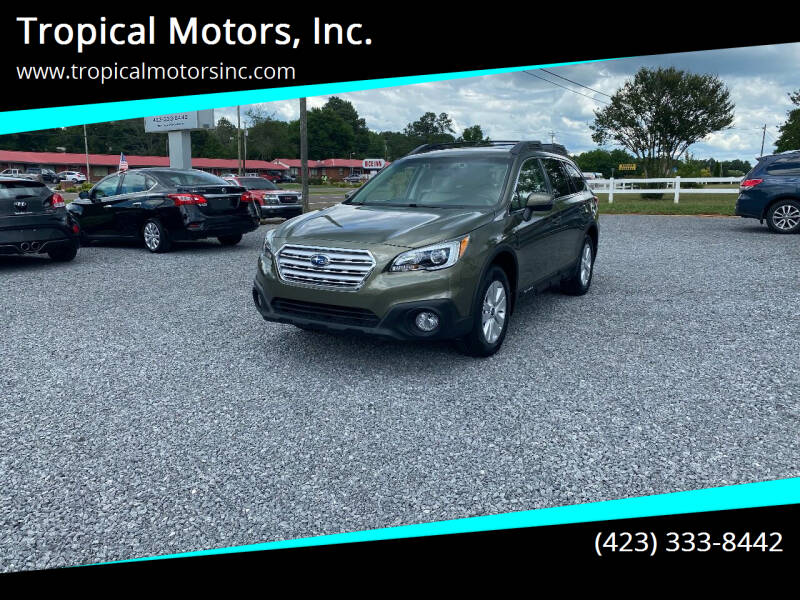 2016 Subaru Outback for sale at Tropical Motors, Inc. in Riceville TN