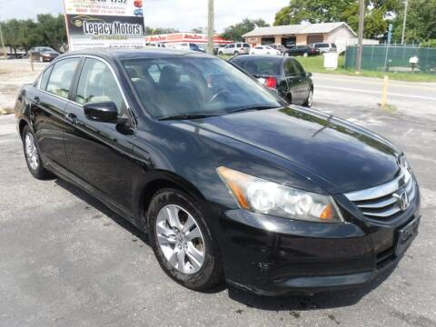2011 Honda Accord for sale at LEGACY MOTORS INC in New Port Richey FL