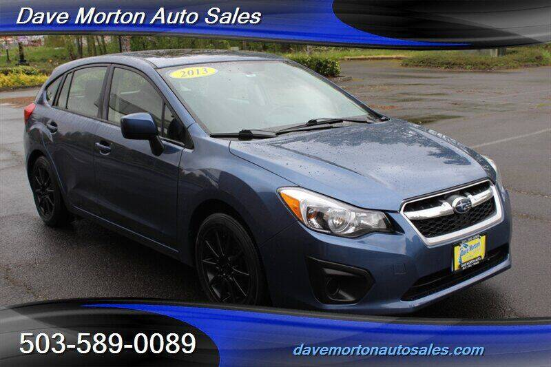 2013 Subaru Impreza for sale at Dave Morton Auto Sales in Salem OR
