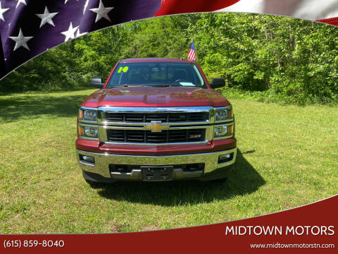 2014 Chevrolet Silverado 1500 for sale at Midtown Motors in Greenbrier TN