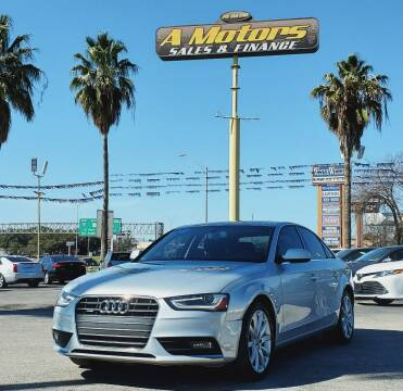 2013 Audi A4 for sale at A MOTORS SALES AND FINANCE - 10110 West Loop 1604 N in San Antonio TX