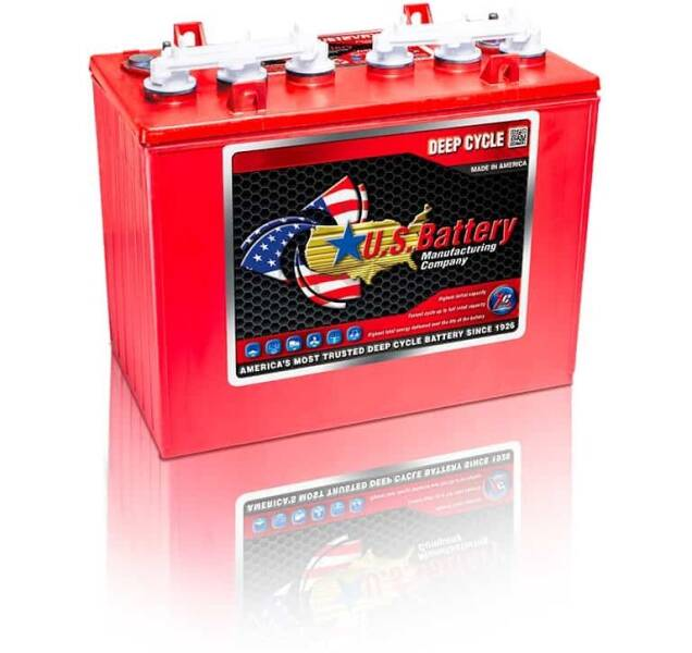 2021 US Battery U.S. 12VGC for sale at 70 East Custom Carts Atlantic Beach - golf cart batteries in Atlantic Beach NC