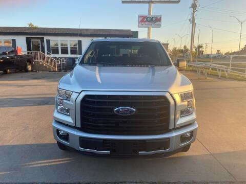 2017 Ford F-150 for sale at Zoom Auto Sales in Oklahoma City OK