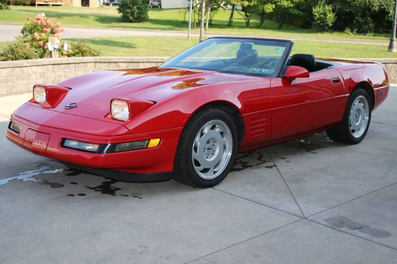 1991 Chevrolet Corvette for sale at Great Lakes Classic Cars & Detail Shop in Hilton NY