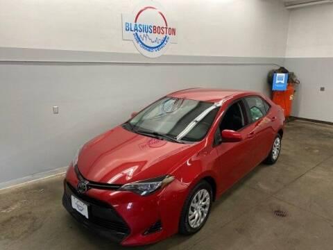 2017 Toyota Corolla for sale at WCG Enterprises in Holliston MA