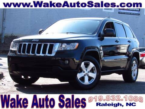 2012 Jeep Grand Cherokee for sale at Wake Auto Sales Inc in Raleigh NC