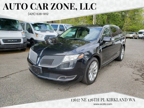 2013 Lincoln MKT for sale at Auto Car Zone, LLC in Kirkland WA