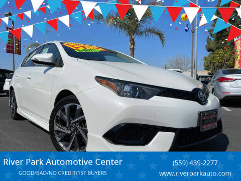 2016 Scion iM for sale at River Park Automotive Center in Fresno CA