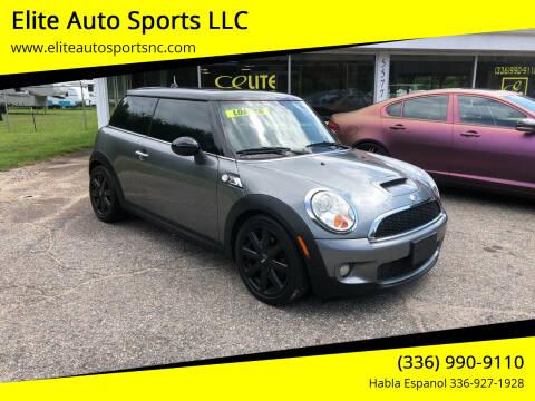 2008 MINI Cooper for sale at Elite Auto Sports LLC in Wilkesboro NC