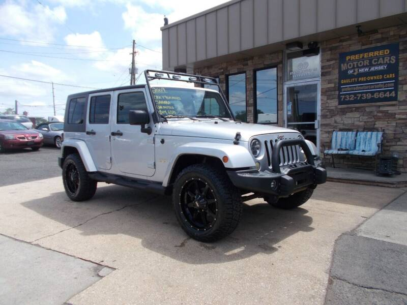 2009 Jeep Wrangler Unlimited for sale at Preferred Motor Cars of New Jersey in Keyport NJ