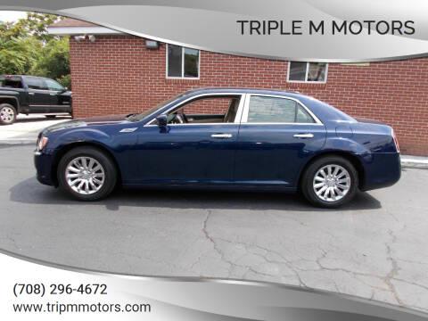 2014 Chrysler 300 for sale at Triple M Motors in Saint John IN