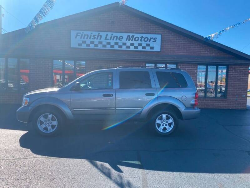 2008 Dodge Durango for sale at FINISHLINE MOTORS in Canton OH