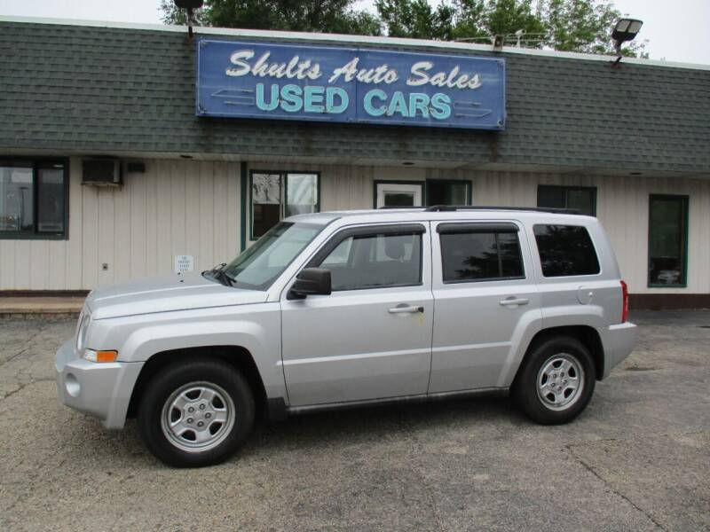 2010 Jeep Patriot for sale at SHULTS AUTO SALES INC. in Crystal Lake IL