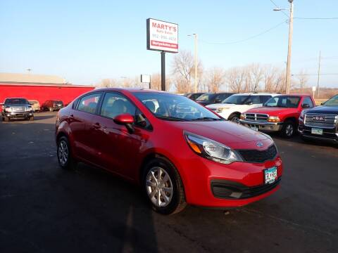 2013 Kia Rio for sale at Marty's Auto Sales in Savage MN