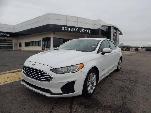 2019 Ford Fusion Hybrid for sale in El Reno, OK