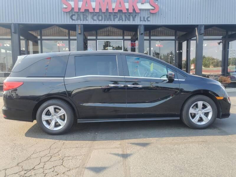 2018 Honda Odyssey for sale at Siamak's Car Company llc in Salem OR