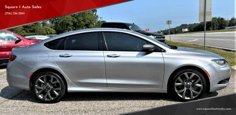 2015 Chrysler 200 for sale at Square 1 Auto Sales - Commerce in Commerce GA