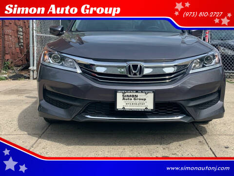 2017 Honda Accord for sale at Simon Auto Group in Newark NJ