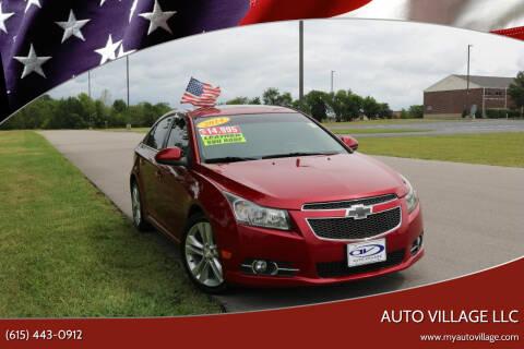 2014 Chevrolet Cruze for sale at AUTO VILLAGE LLC in Lebanon TN