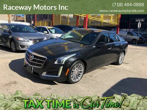 2014 Cadillac CTS for sale at Raceway Motors Inc in Brooklyn NY