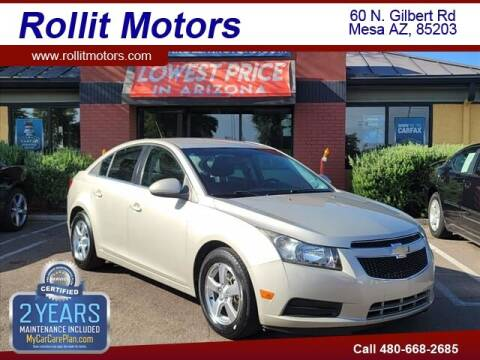 2013 Chevrolet Cruze for sale at Rollit Motors in Mesa AZ