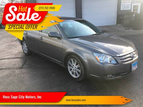 2005 Toyota Avalon for sale at Hoss Sage City Motors, Inc in Monticello IL