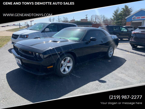 2013 Dodge Challenger for sale at GENE AND TONYS DEMOTTE AUTO SALES in Demotte IN
