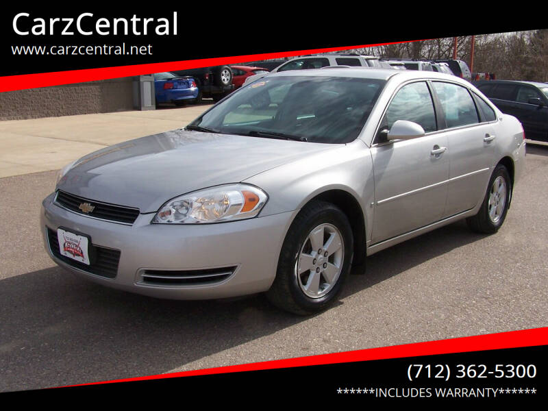 2007 Chevrolet Impala for sale at CarzCentral in Estherville IA