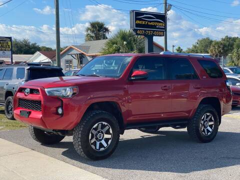 2016 Toyota 4Runner for sale at BEST MOTORS OF FLORIDA in Orlando FL