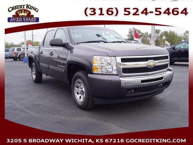 2010 Chevrolet Silverado 1500 for sale at Credit King Auto Sales in Wichita KS