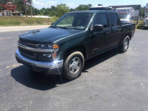 2004 Chevrolet Colorado for sale at EAGLE ROCK AUTO SALES in Eagle Rock MO