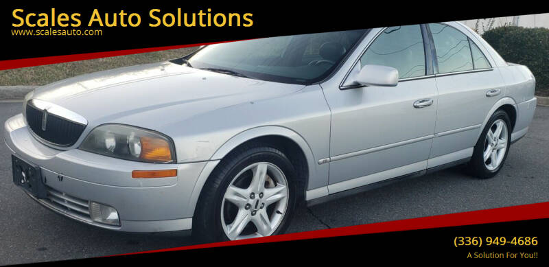 2001 Lincoln LS for sale at Scales Auto Solutions in Madison NC