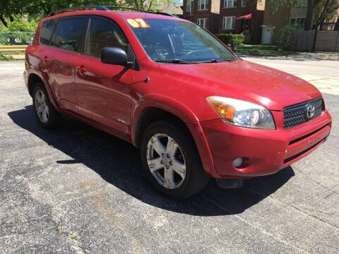 2007 Toyota RAV4 for sale at 540 AUTO SALES in Chicago IL