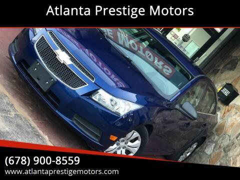 2012 Chevrolet Cruze for sale at Atlanta Prestige Motors in Decatur GA