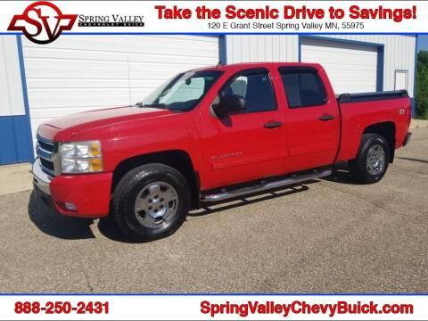 2010 Chevrolet Silverado 1500 for sale at Spring Valley Chevrolet Buick in Spring Valley MN